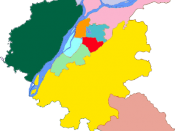 Subdivision of Nanjing