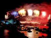 Public Domain. Suggested credit: DOD via pingnews. Additional information from source: Fireworks over the Sydney Harbour Bridge during closing ceremonies of the Olympics games in Sydney, Australia. DoD photo by: TSGT ROBERT A. WHITEHEAD, USAF Date Shot: 1