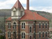 Kanakadea Hall was originally built in 1884; it served as Alfred's schoolhouse until a large fire destroyed the tower and devastated the second floor in 1907. It was sold to Alfred University and repaired in 1908. The exterior has since been restored to i