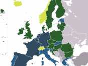 English: Multispeed Europe - EU/EWR - as of 2011