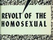 U.S. homophile publication Mattachine Review, May 1959.