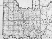 English: Detail of 1891 map from the National Archives and is in the Public Domain. Category:Oklahoma maps