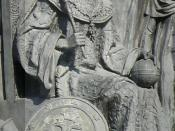 Ivan III of Russia on the Monument «Millennium of Russia» in Veliky Novgorod