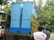 English: WV relief effort in disaster affected areas