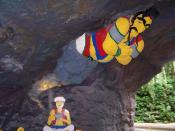 Legoland Windsor: Aladdin and genie.