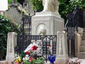 Frederic Chopin's grave.