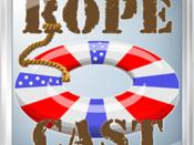 Logo of RoPeCast, and educational podcast on English as foreign language