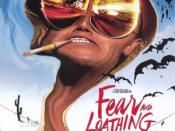 Film poster for Fear and Loathing in Las Vegas - Copyright 1998, Universal Pictures