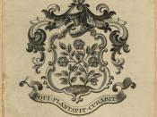 Bookplate of Theodore Roosevelt, from his personal library