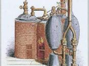 English: URL:[www.humanthermodynamics.com/HT-history.html] Description: Savery Steam Engine [1698]