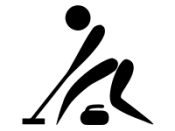 Pictograms of Olympic sports - Curling