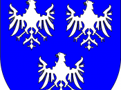English: coats of arms of the principality of Leiningen