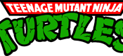 The TMNT logo of the 1987 animated series.