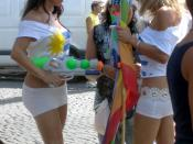 Gay Pride in Rome: The South-American transsexuals turn up in force every year.