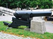 Akers Styckbruk muzzle loading cannon