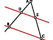 Thales' Theorem: