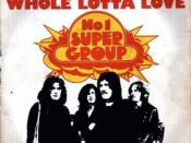 Whole Lotta Love album cover by Led Zeppelin