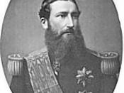 Leopold II, King of the Belgians and de facto owner of the Congo Free State from 1885 to 1908.