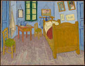 Vincent van Gogh's Bedroom in Arles.