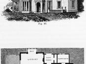 Design VI, Italian style, Cottage Residences, 1842.