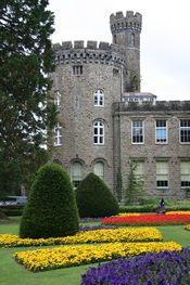 Cyfarthfa Castle in the Summer