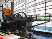 Richard Trevithick's Pen y Darren Locomotive