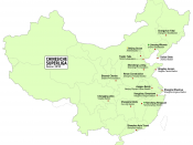 English: Teams of the Chinese football Super League 2010. Thematic map. Deutsch: Vereine der chinesischen Fussball-Superliga 2010. Thematische Karte.