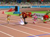 Mario & Sonic at the Olympic Games, one of several recent games controlled by the player physically simulating the sport involved