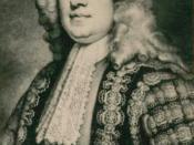 English: Robert Walpole prime minister of Britain (1721-1742)