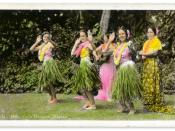 Hula Dancers, Hawaii