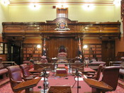 English: the legislative council chamber of NSW