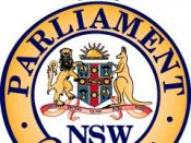 The Parliament Crest Badge