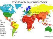 Dyschronicity map: values