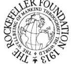 Original Rockefeller logo, no longer in use