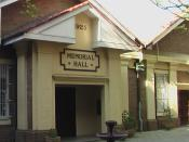 Memorial Hall at Fort Street High School
