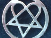 Heartagram pendant