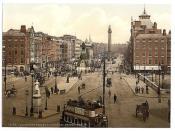 [Sackville Street and O'Connell Bridge, Dublin. County Dublin, Ireland] (LOC)