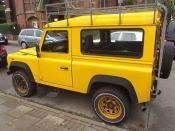 Stanhope Street, Highgate - Land Rover Defender TD5
