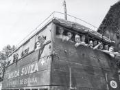 SCI, evacuation, Spanish Civil War, 1937. Français : SCI, évacuation, Guerre d'Espagne, 1937.