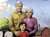 Jonathan and Martha Kent as they appear in