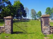 English: Gates of Gilead Cemetery, Carmel, NY, USA