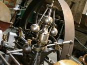 Régulation de la machine à vapeur Merlin