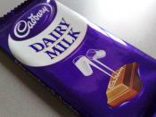 A Cadbury Dairy Milk bar in 2006.