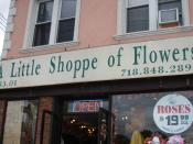 Jack Kerouac lived above this flower shop in Ozone Park.
