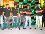 English: Sourav Ganguly with Knight Riders