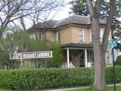 The Margaret Laurence Home in Neepawa