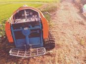 草刈り機 #mower. #wideangle #olloclip