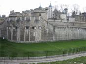 Stitched photo of the Tower of London