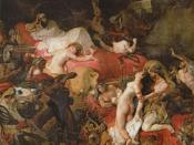 Eugène Delacroix's Death of Sardanapalus, which contributed to Liszt's treatment of the story in his opera