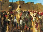 Sultan of Morocco, (1845), Musée des Augustins, Toulouse, France
